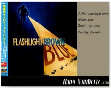 Flashlight Brown- Blue