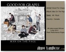 Good For Grapes- Man On The Page