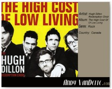 Hugh Dillon Redemption Choir- The High Cost Of Low Living