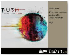 Rush- Vapor Trails-Remixed