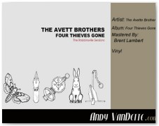 The Avette Brothers- Four Thieves Gone