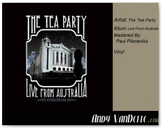 The Tea Party- Live From Australia