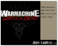 Warmachine- Left For Dead